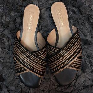 Antonio Melani slide on sandals